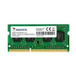 Memoria Notebook 8GB DDR3L 1600 ADATA