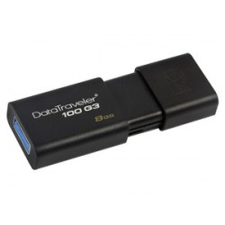 PENDRIVE KINGSTON 8GB DATA TRAVELER 100 USB 3