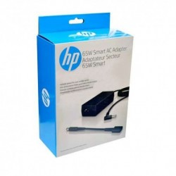 Cargador Notebook HP 65W con adaptador