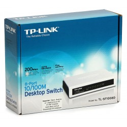 Tplink®  Switch 08b TL-SF1008D 10/100